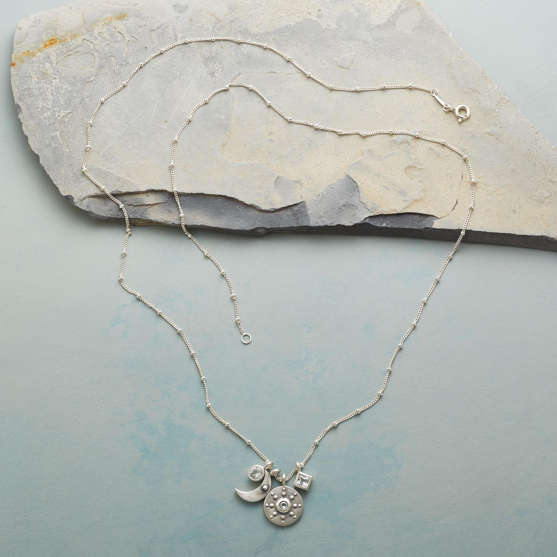 STERLING SILVER YOU'RE MY WORLD NECKLACE: View 2