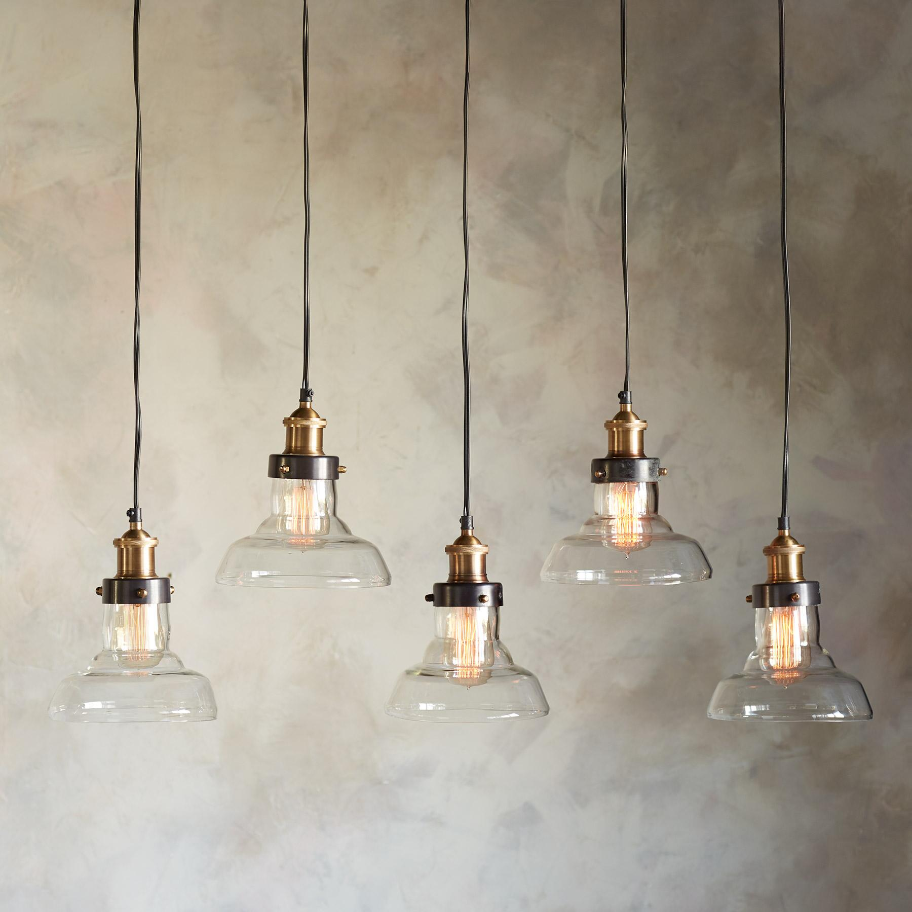 LONDONDERRY QUINTUPLE PENDANT LIGHT: View 1