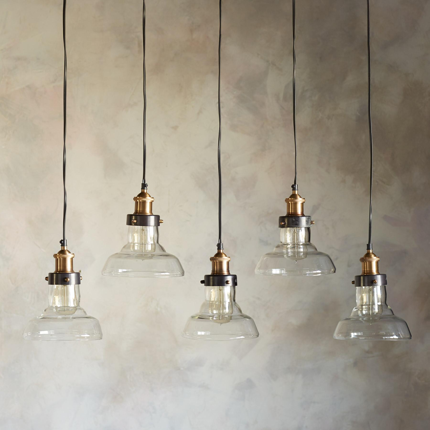 LONDONDERRY QUINTUPLE PENDANT LIGHT: View 2