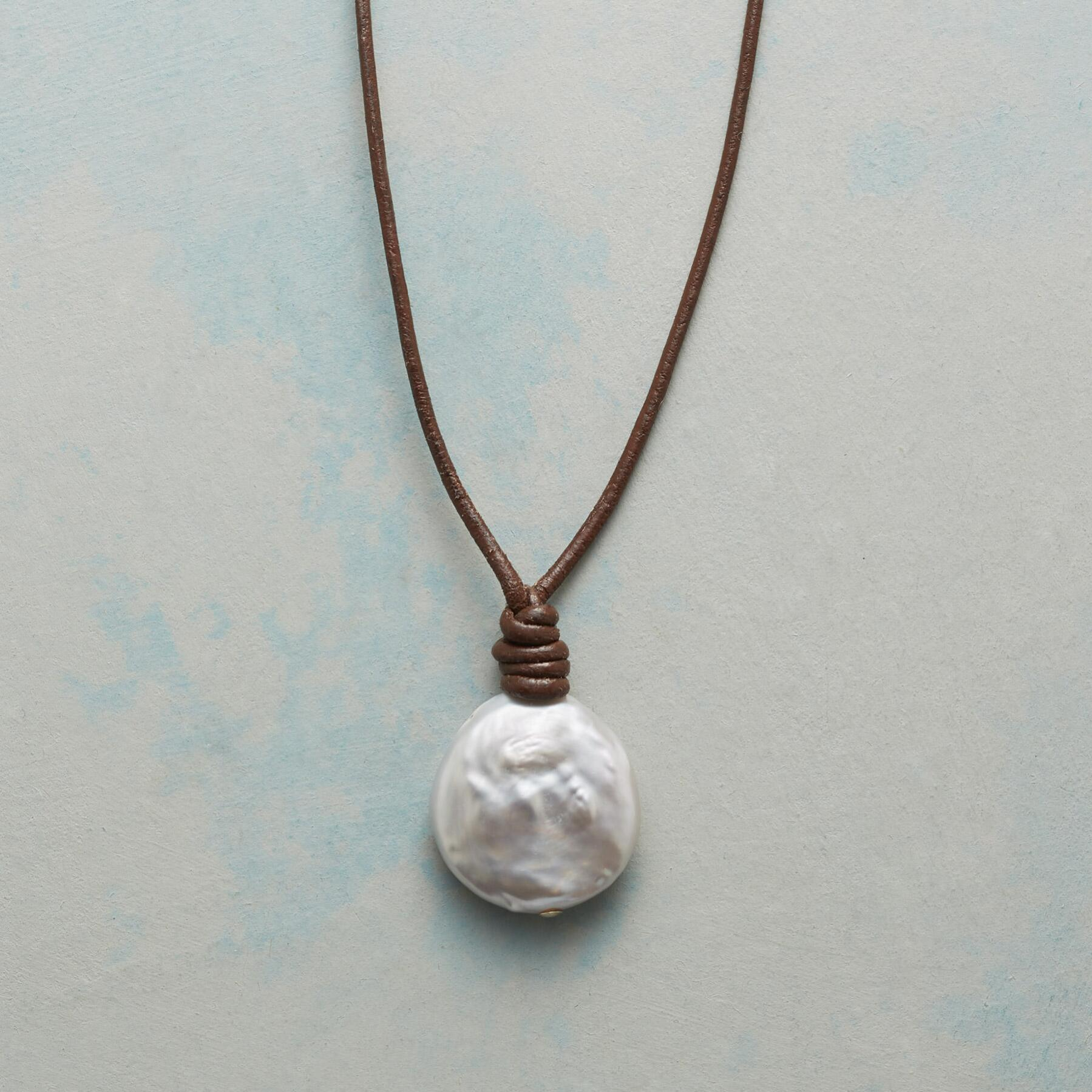PEARL COIN NECKLACE: View 1