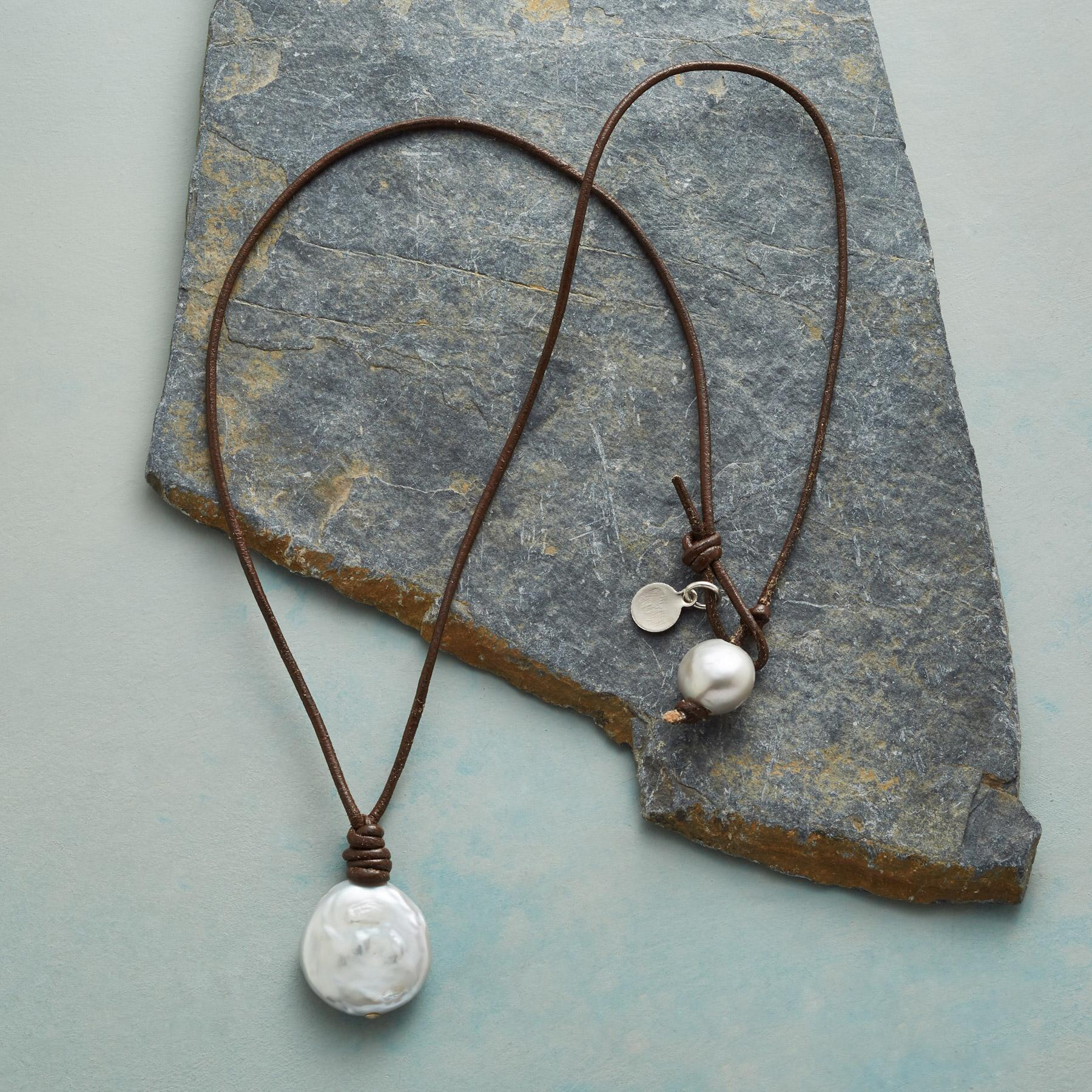 PEARL COIN NECKLACE: View 2