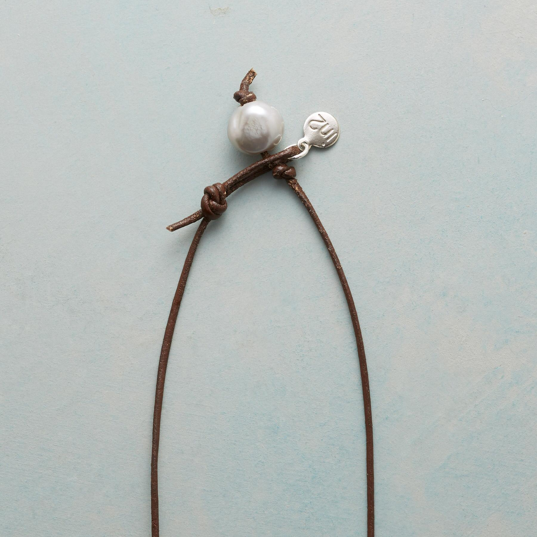 PEARL COIN NECKLACE: View 3