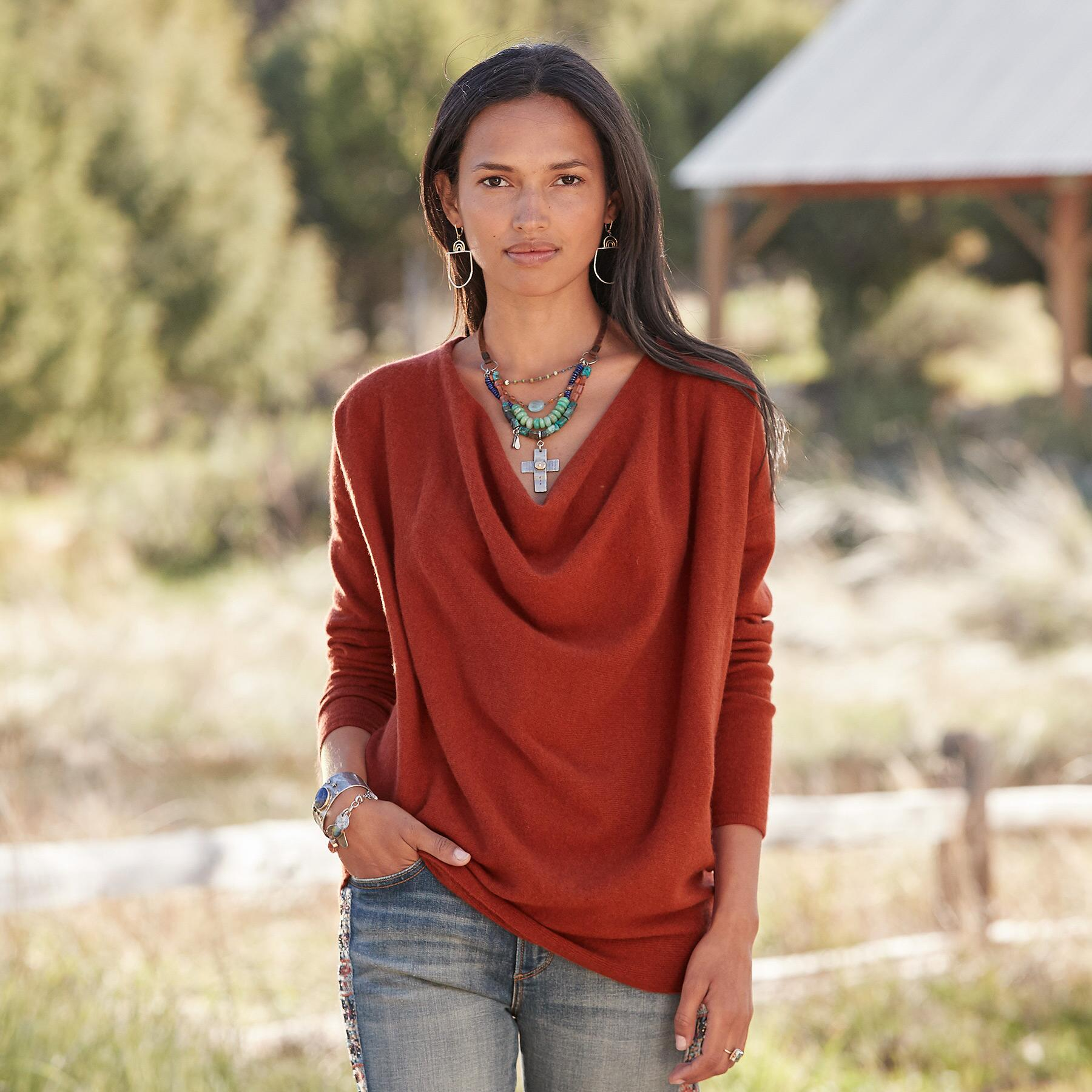SIMPLE TRUTHS CASHMERE SWEATER - PETITES: View 2