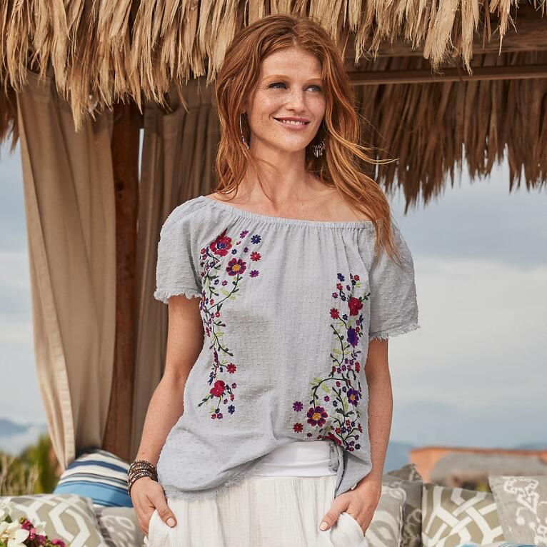 SEASIDE ROSES TOP