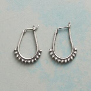 DOWN UNDER HOOP EARRINGS