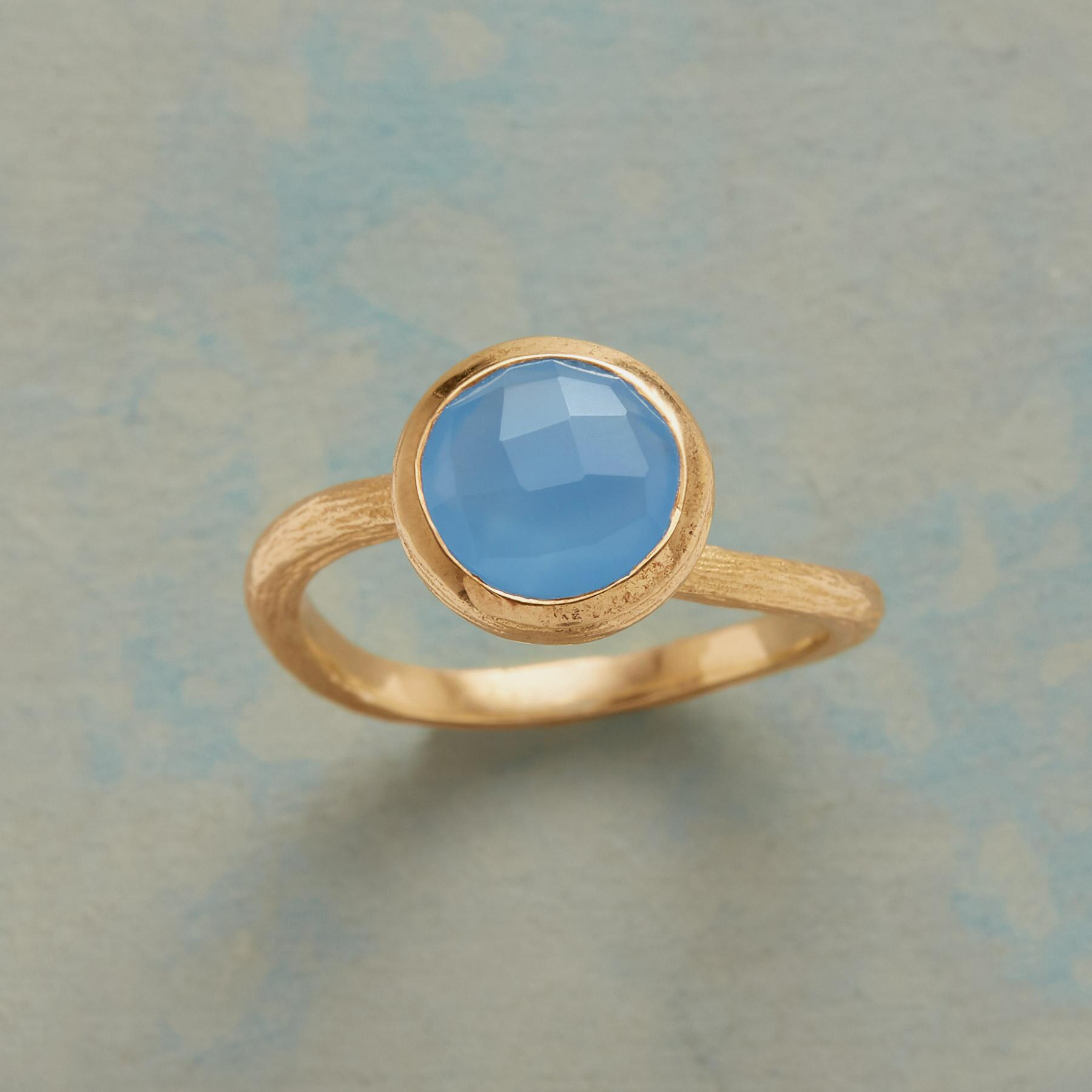 BLUE SWERVE RING: View 1