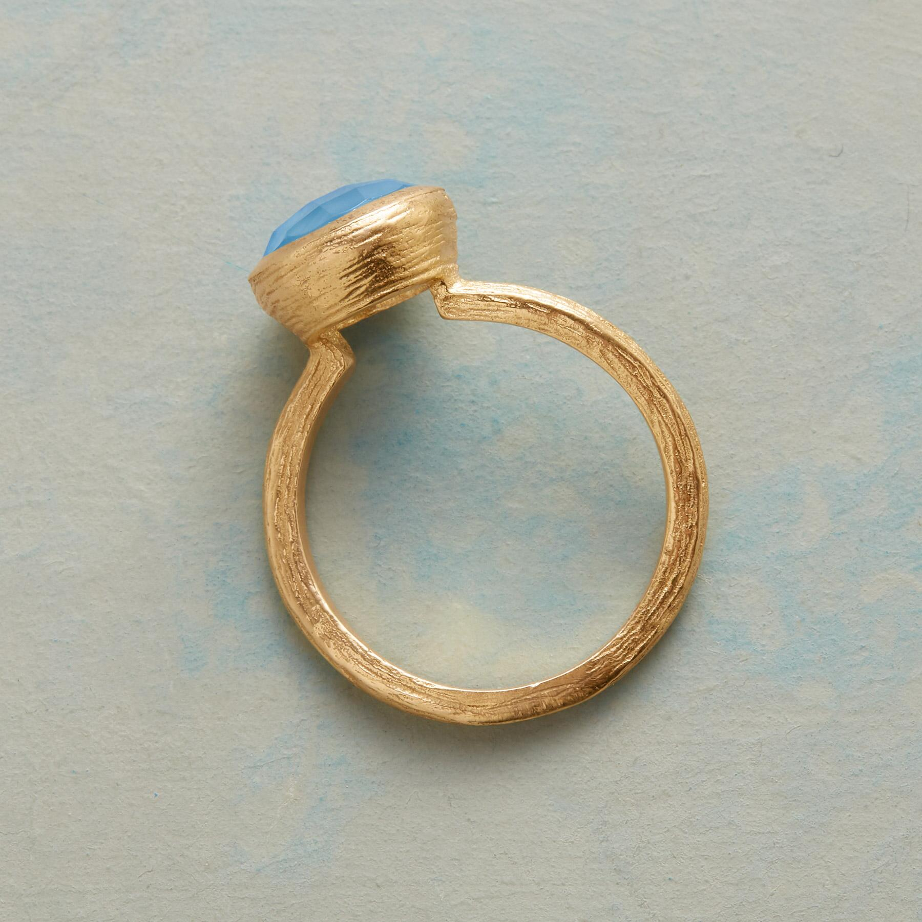 BLUE SWERVE RING: View 2
