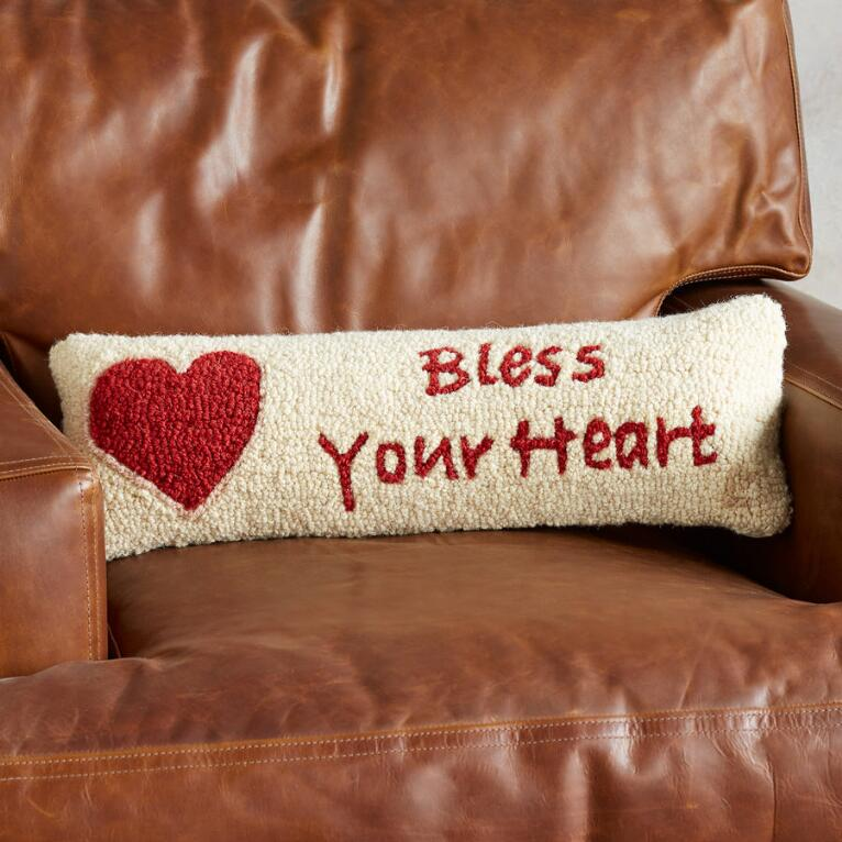BLESS YOUR HEART BOLSTER PILLOW
