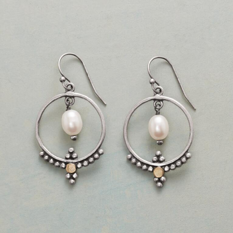ENLIGHTENED HOOP EARRINGS