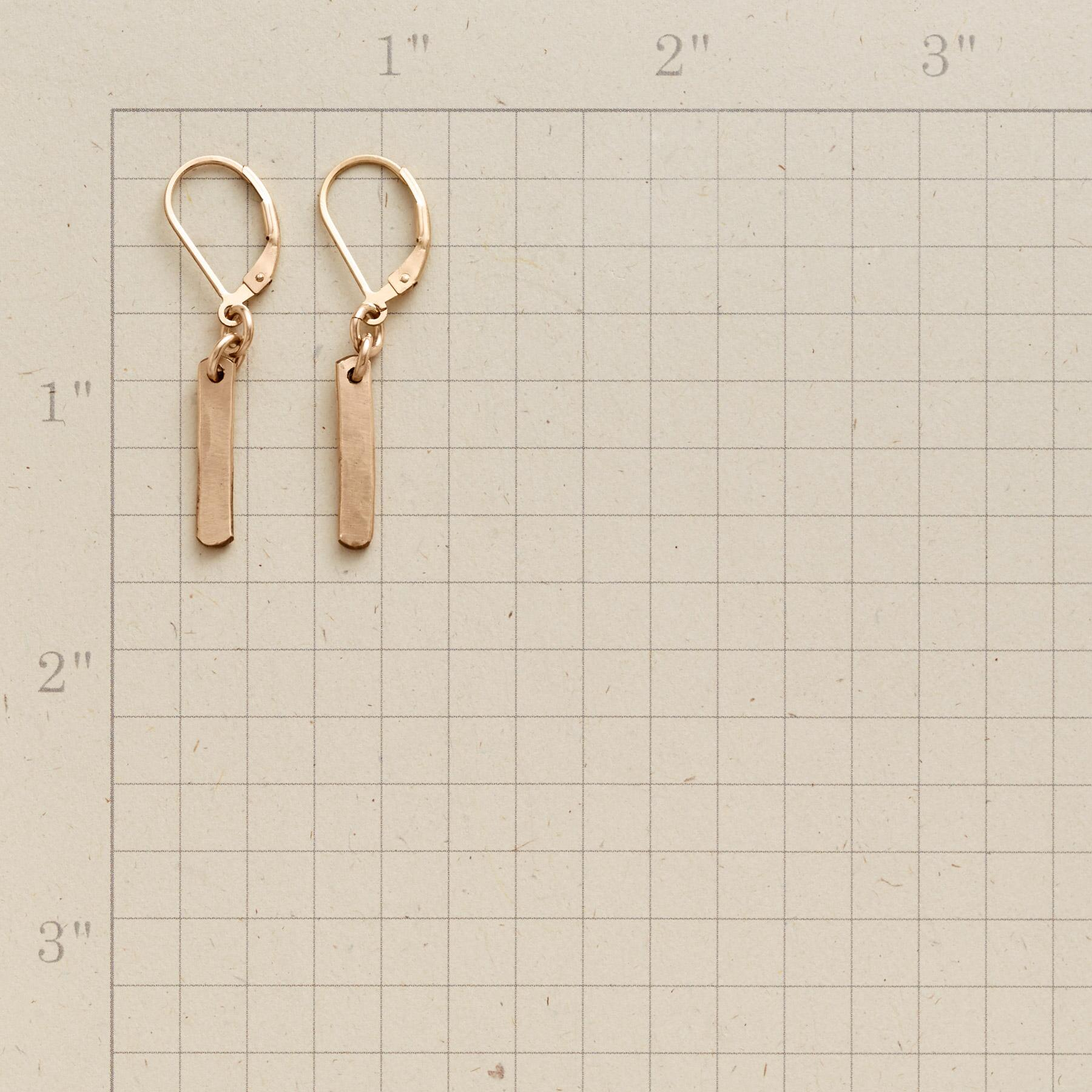 BROAD STROKE EARRINGS: View 2