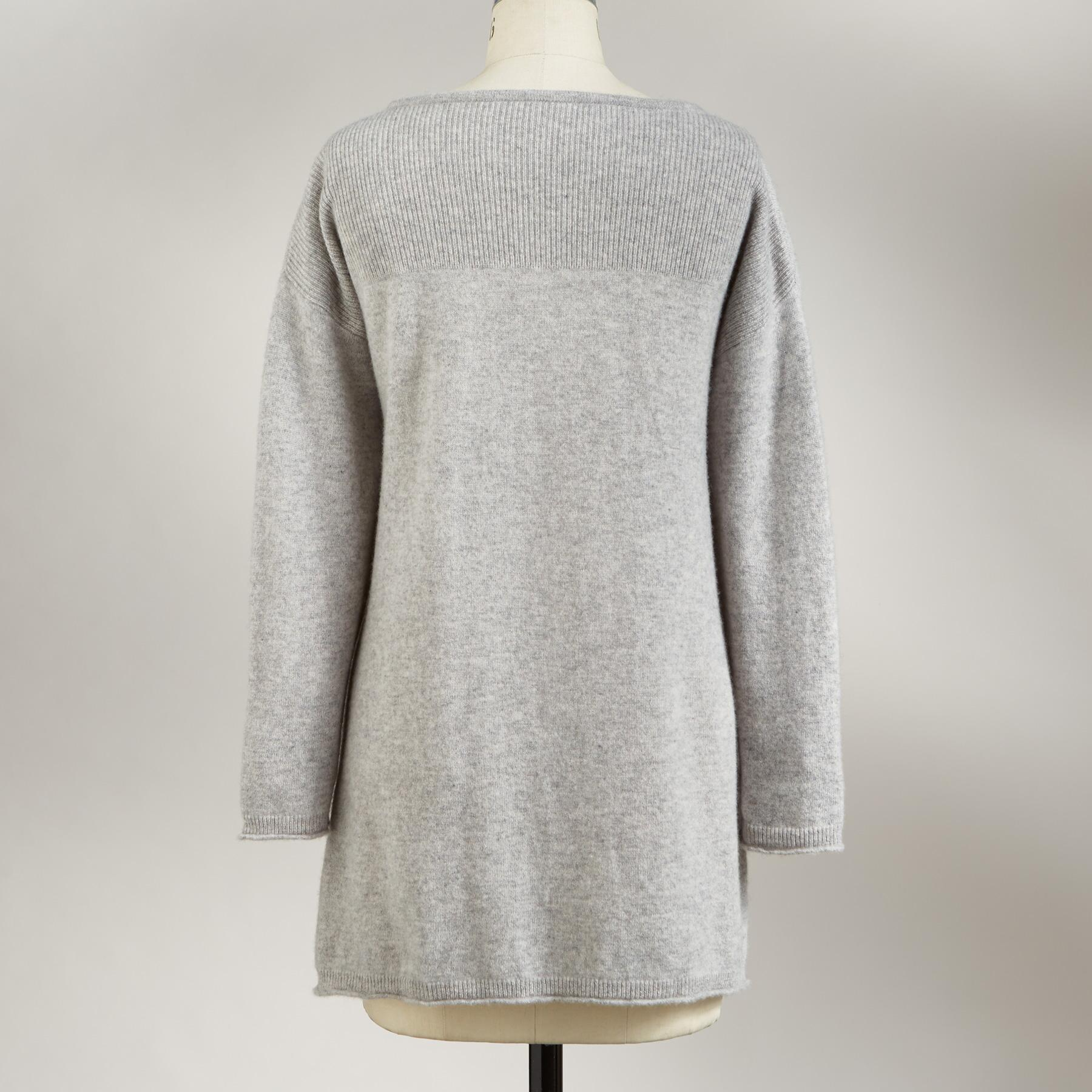 KENDALL CASHMERE PULLOVER: View 3