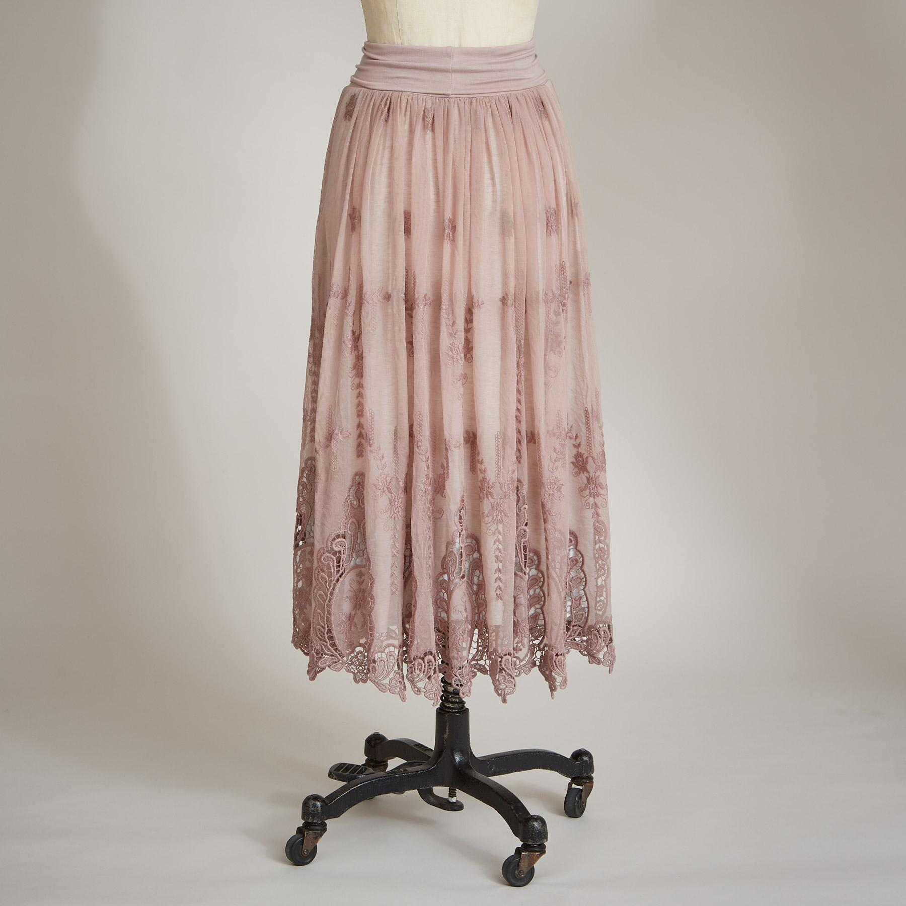 ALCOTT LACE SKIRT: View 2