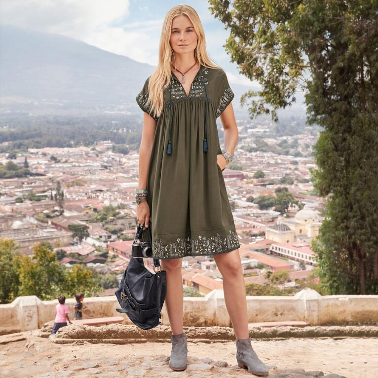 WORLD TRAVELER DRESS