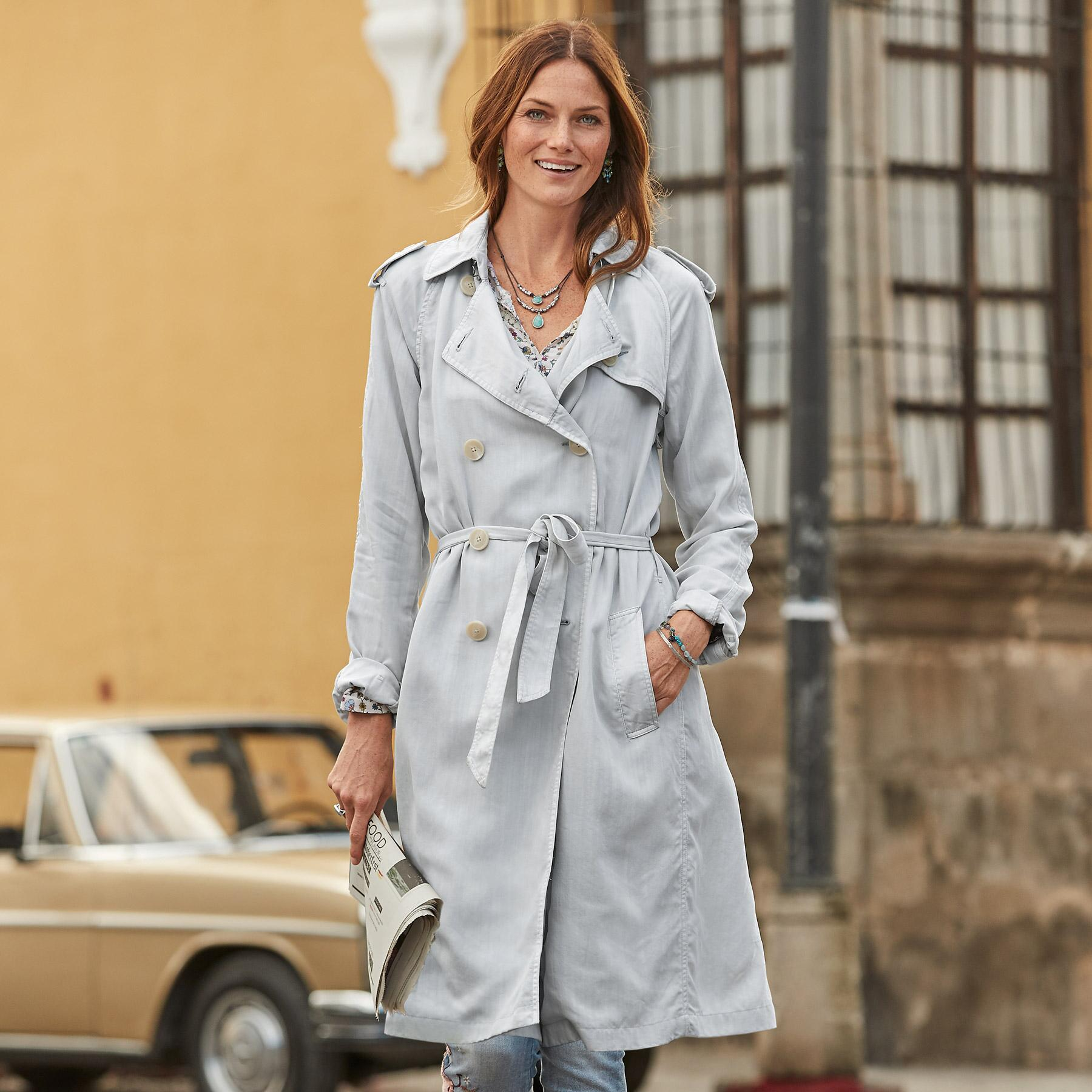 HEPBURN TRENCH COAT: View 1