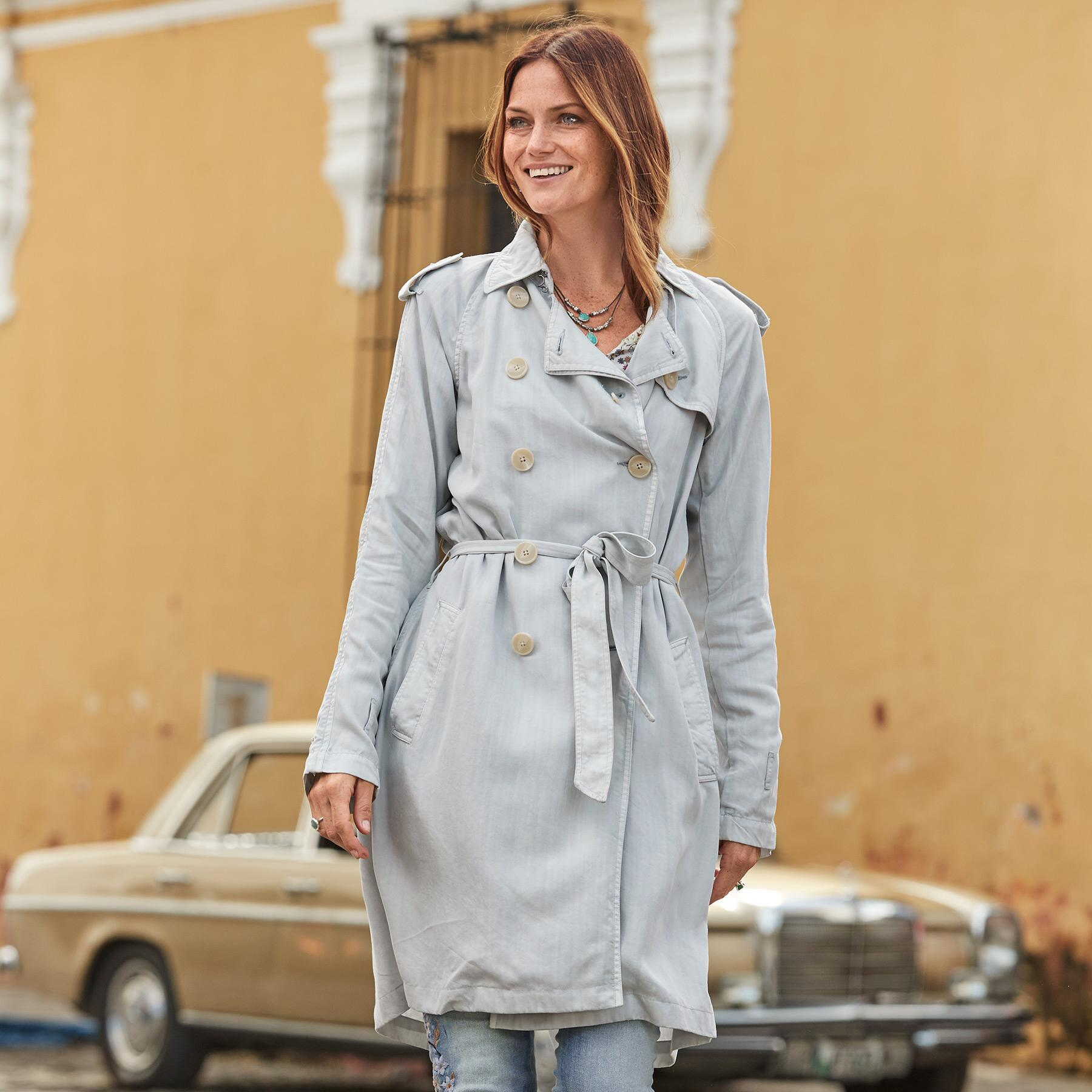 HEPBURN TRENCH COAT: View 2
