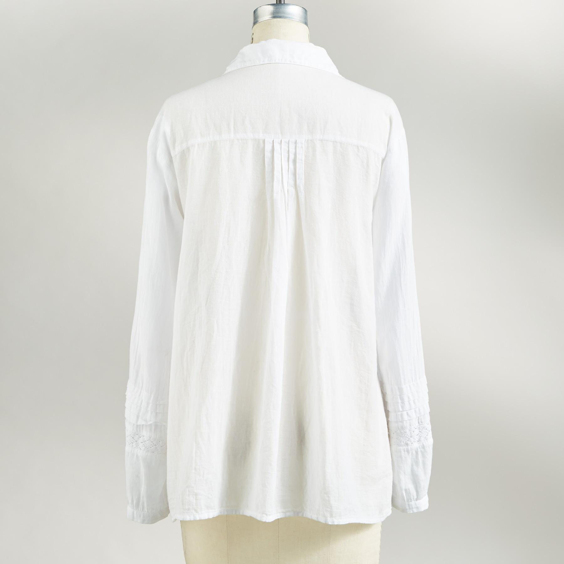 TURN OF THE CENTURY BLOUSE: View 2