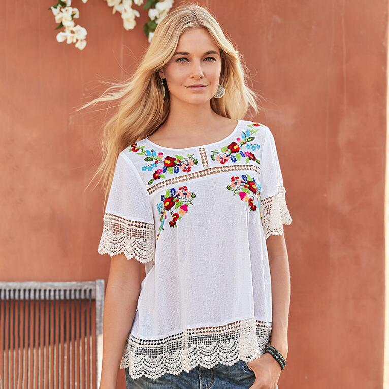 FAIRYTALE BLOSSOMS TOP