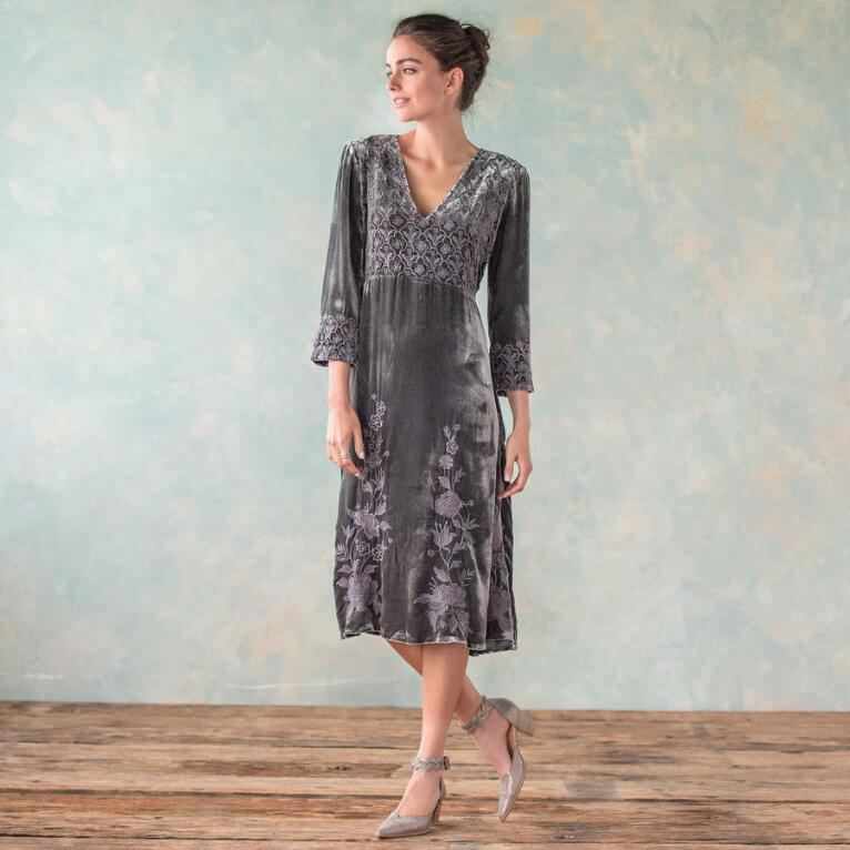 ROSE SPLENDOR DRESS