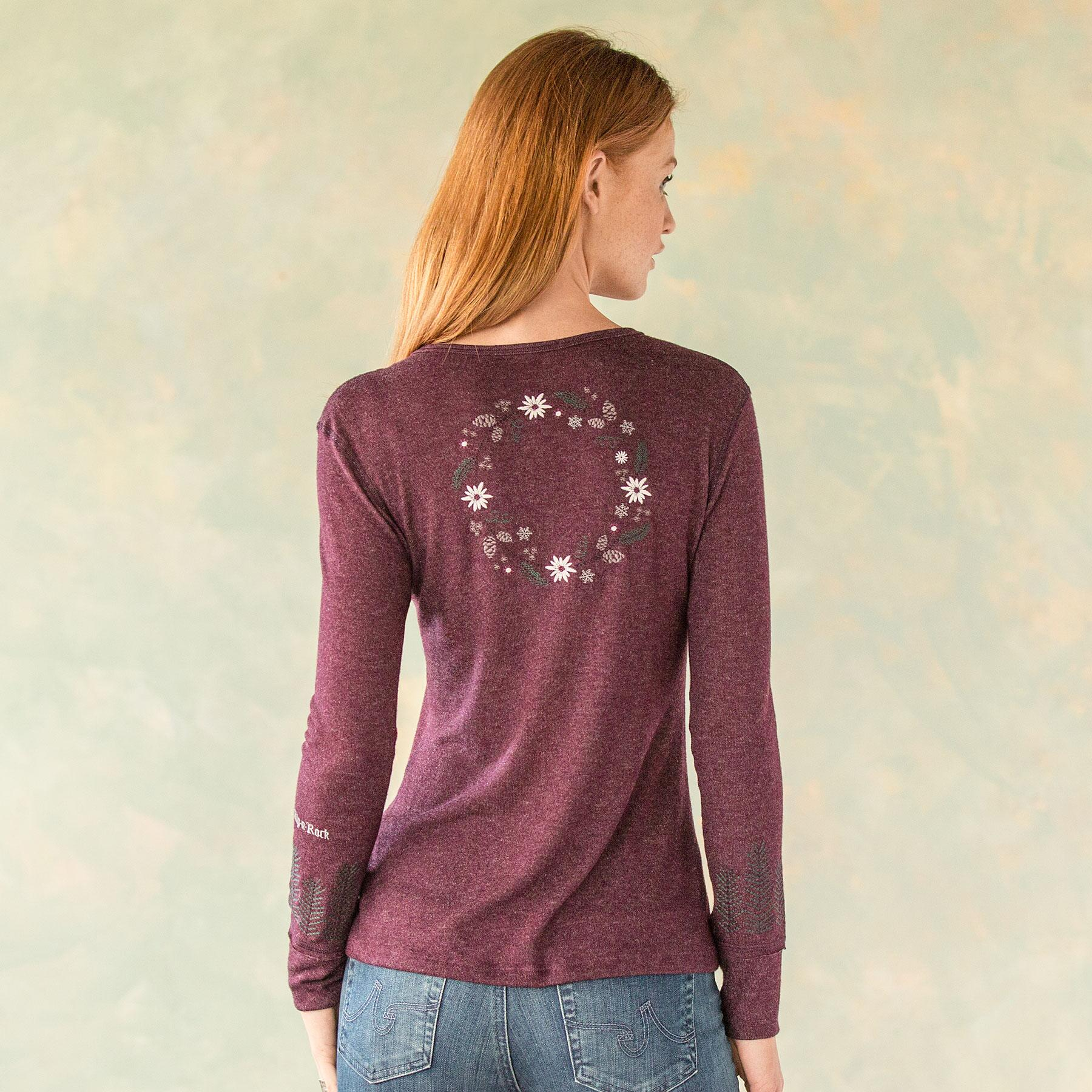 WONDERLAND RELAXED FIT HENLEY: View 2