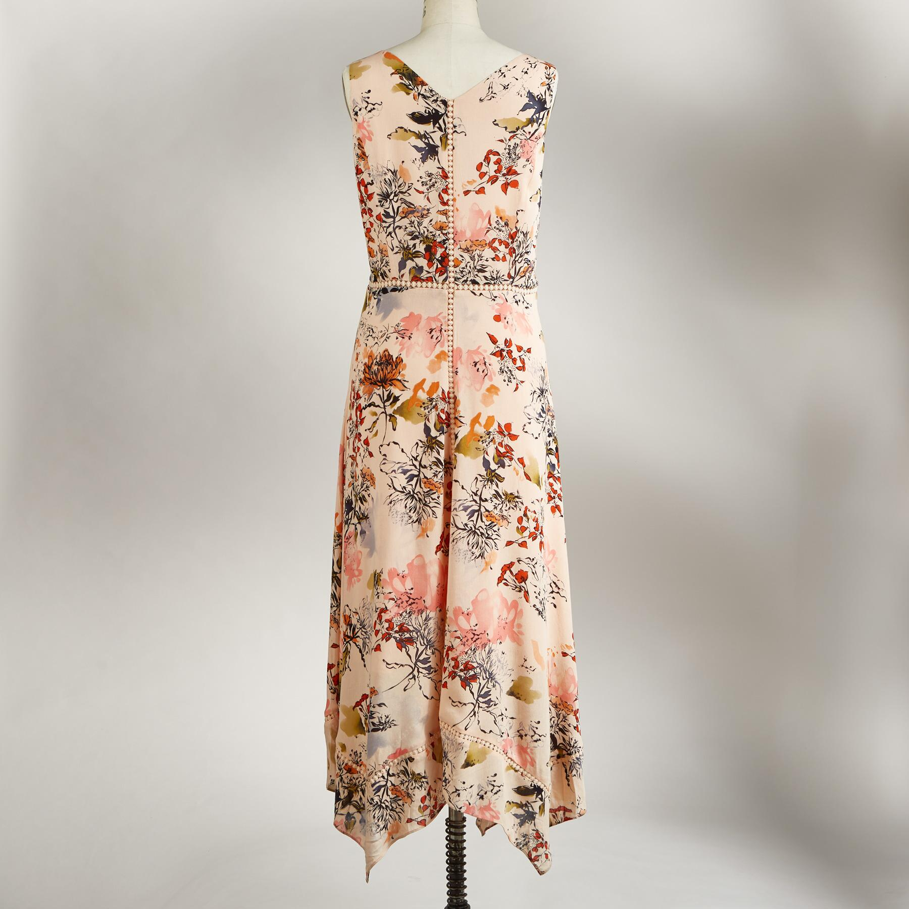 AWASH IN FLORALS DRESS PETITE: View 2