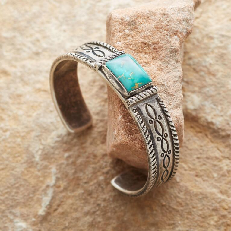 SALMON RIVER TURQUOISE CUFF