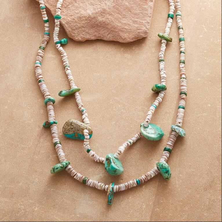 1910 CERILLOS TURQUOISE NECKLACE