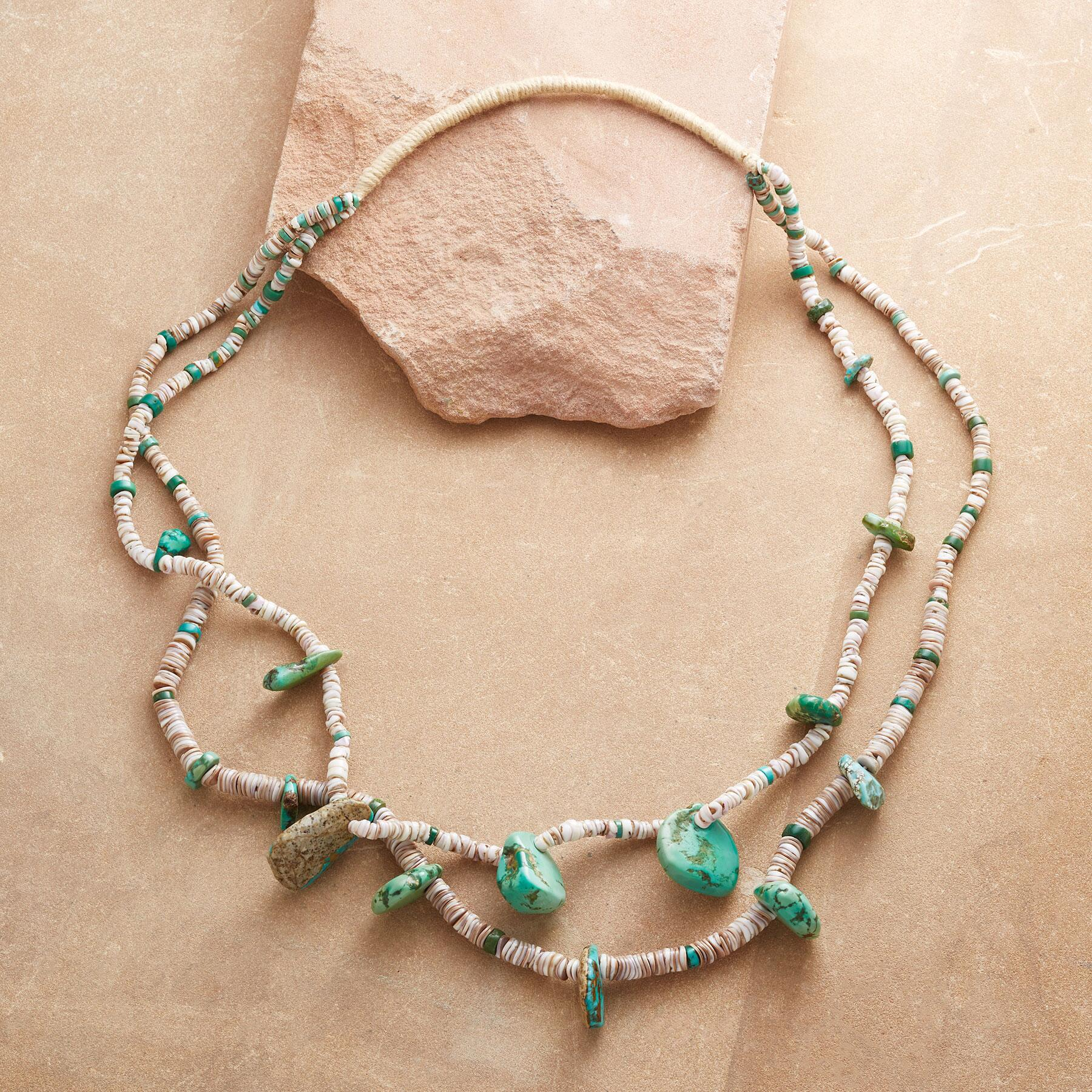 1910 CERILLOS TURQUOISE NECKLACE: View 2