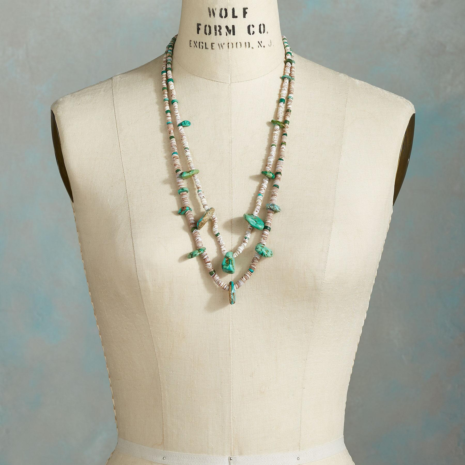 1910 CERILLOS TURQUOISE NECKLACE: View 3