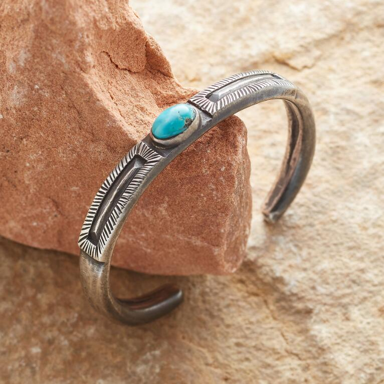 FAR VIEW TURQUOISE CUFF