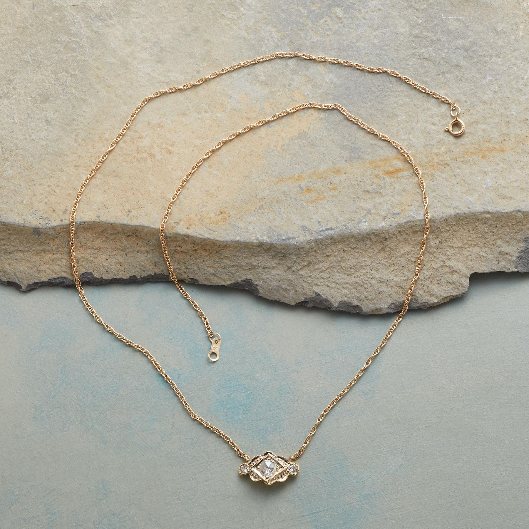 HEIRLOOM DIAMOND NECKLACE: View 2