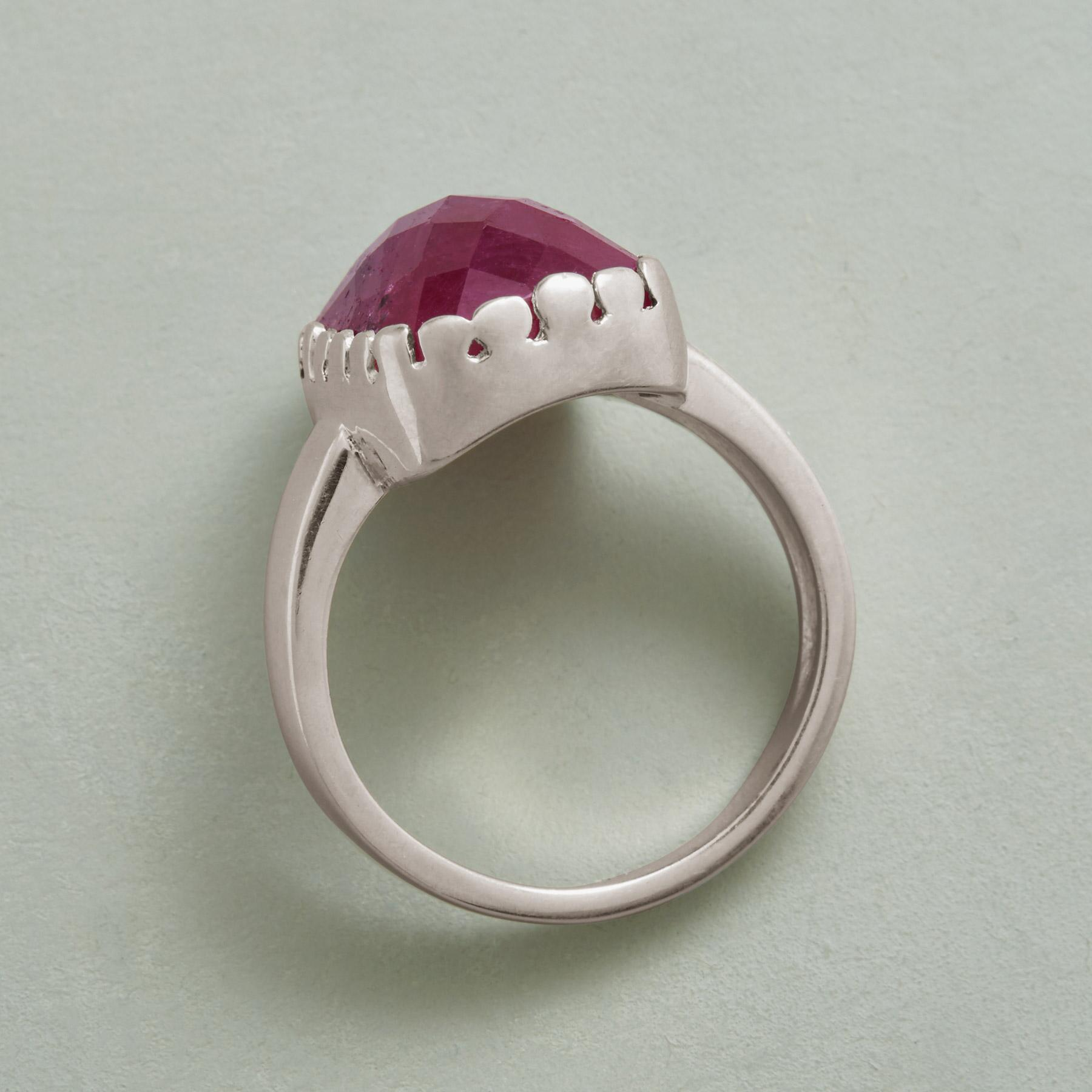 FIRESIDE RUBY RING: View 2