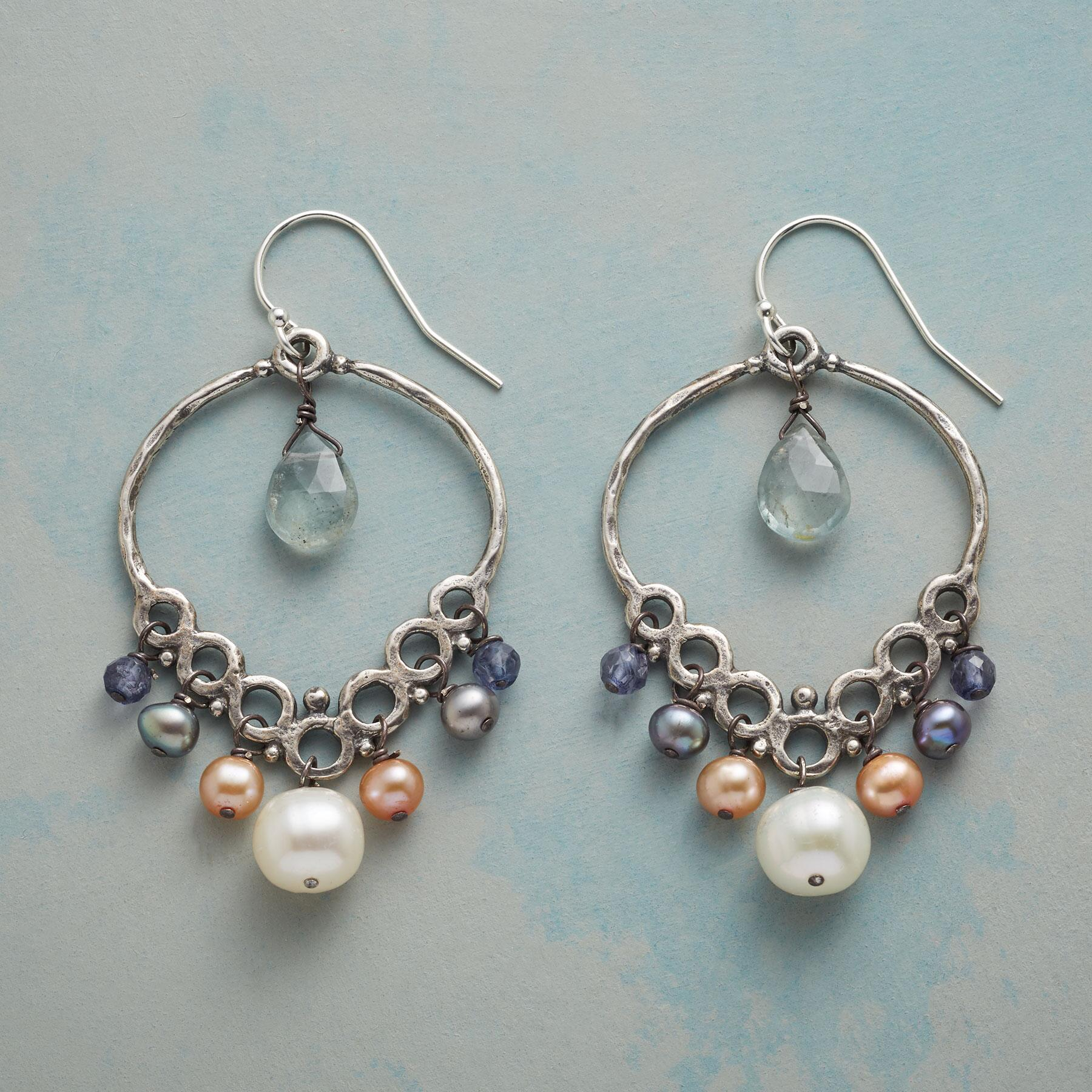 PEARL SEAWALL EARRINGS: View 1