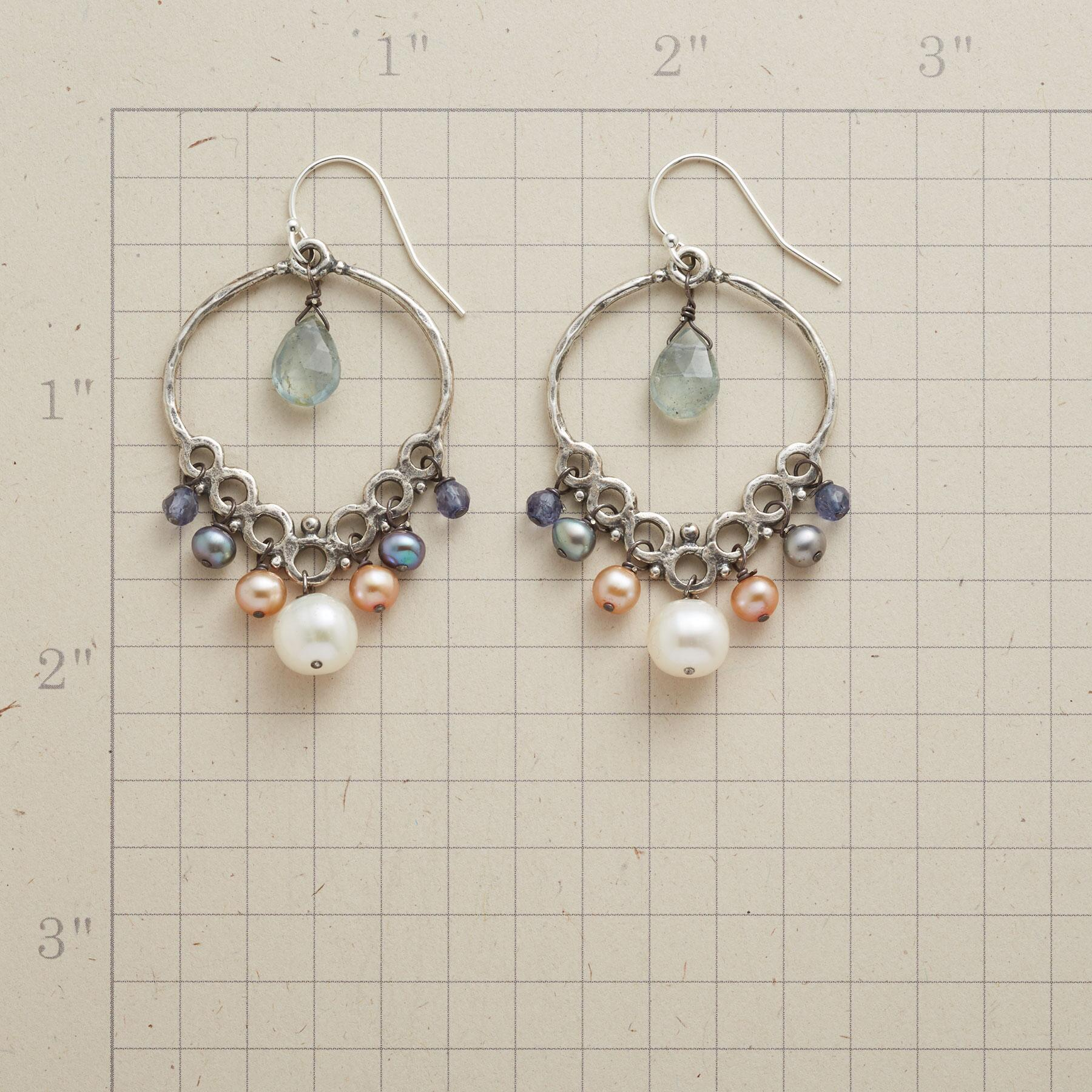 PEARL SEAWALL EARRINGS: View 2