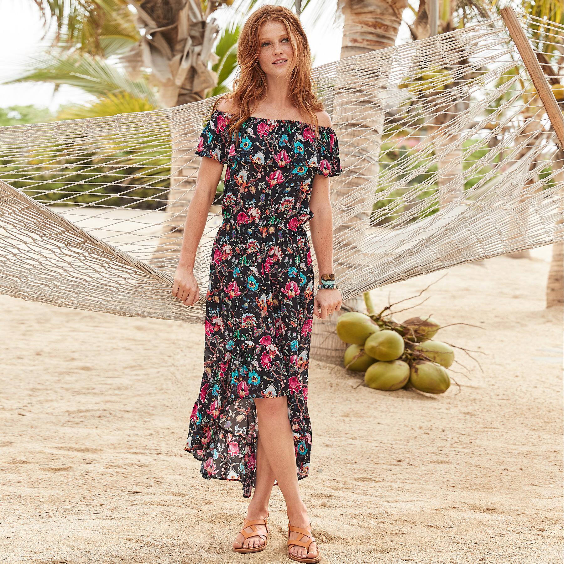 CALYPSO ROSE DRESS: View 1
