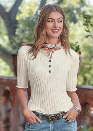NEW LEGENDS HENLEY - PETITES