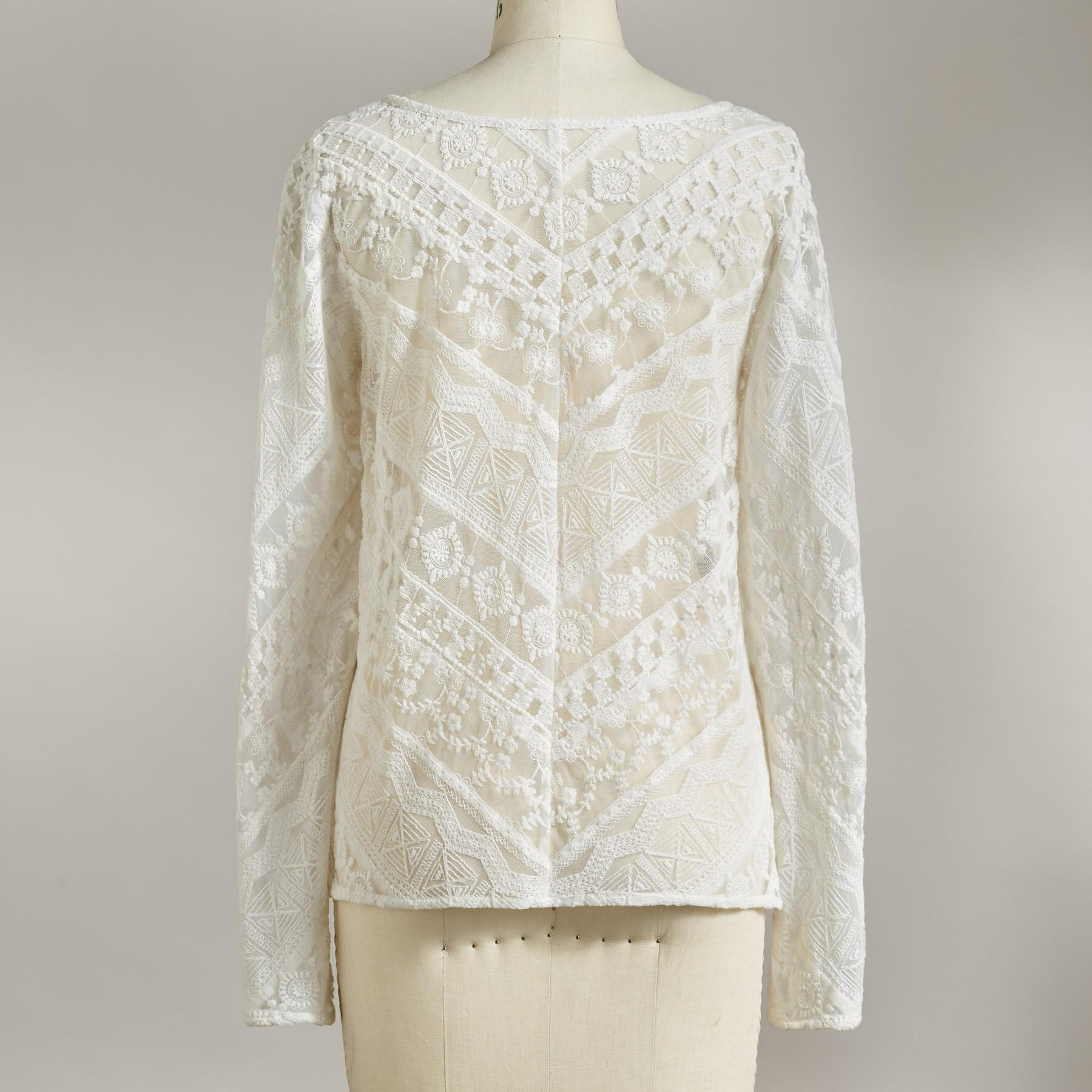 URSULA LACE TOP: View 4