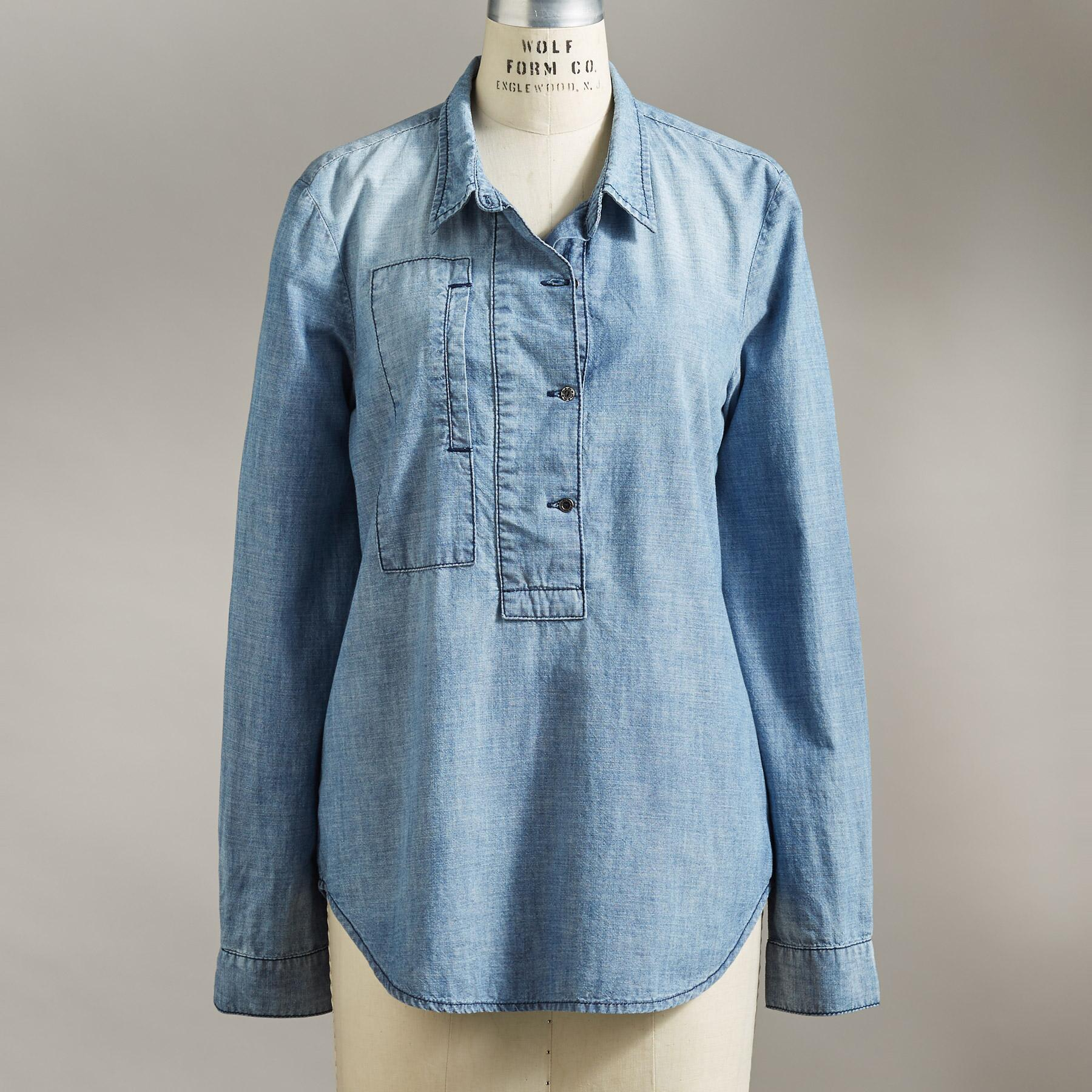 OAKLEE PLACKET TUNIC: View 2