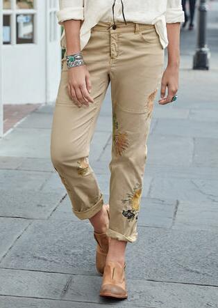 NATURAL APPEAL CARGO PANTS