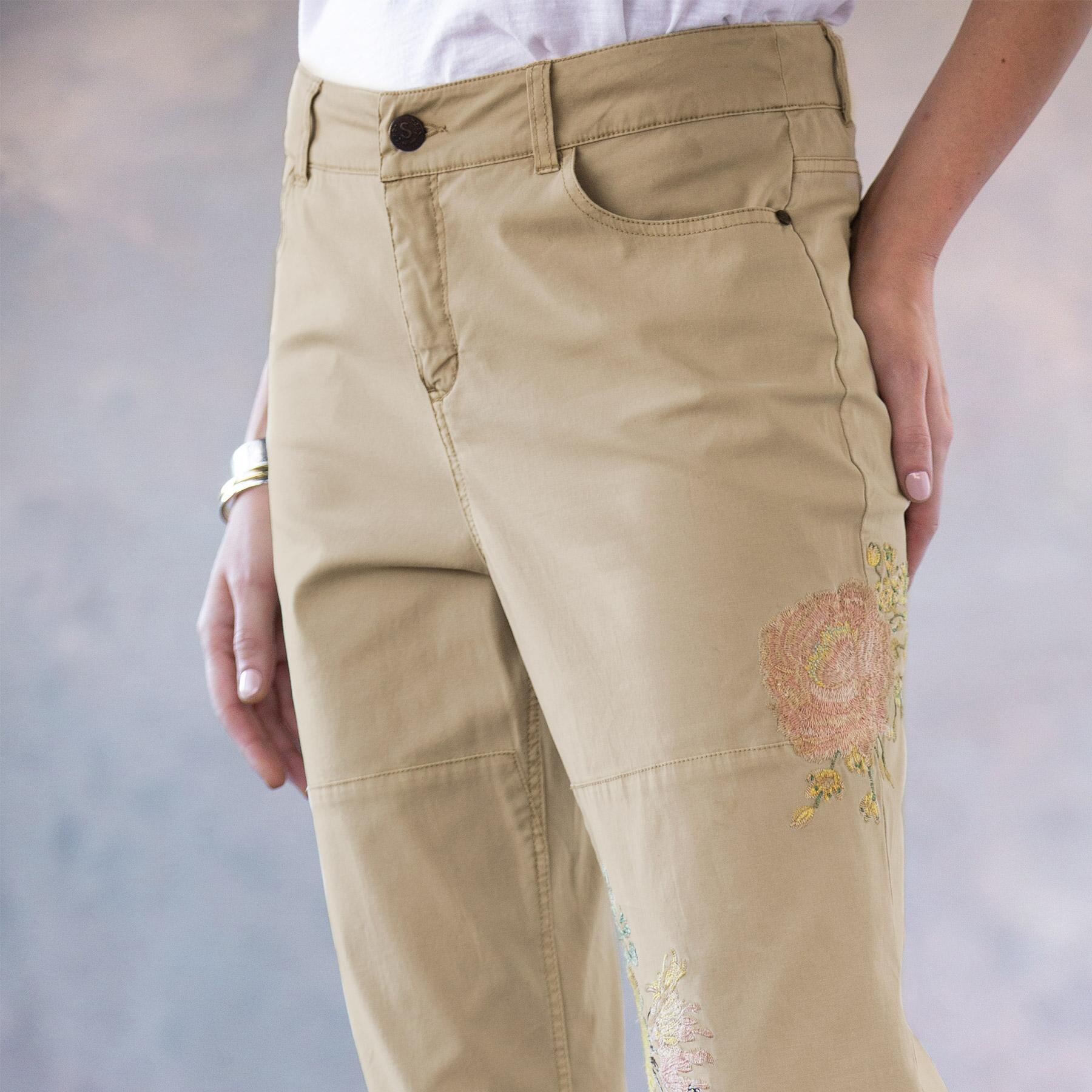 NATURAL APPEAL CARGO PANTS: View 4