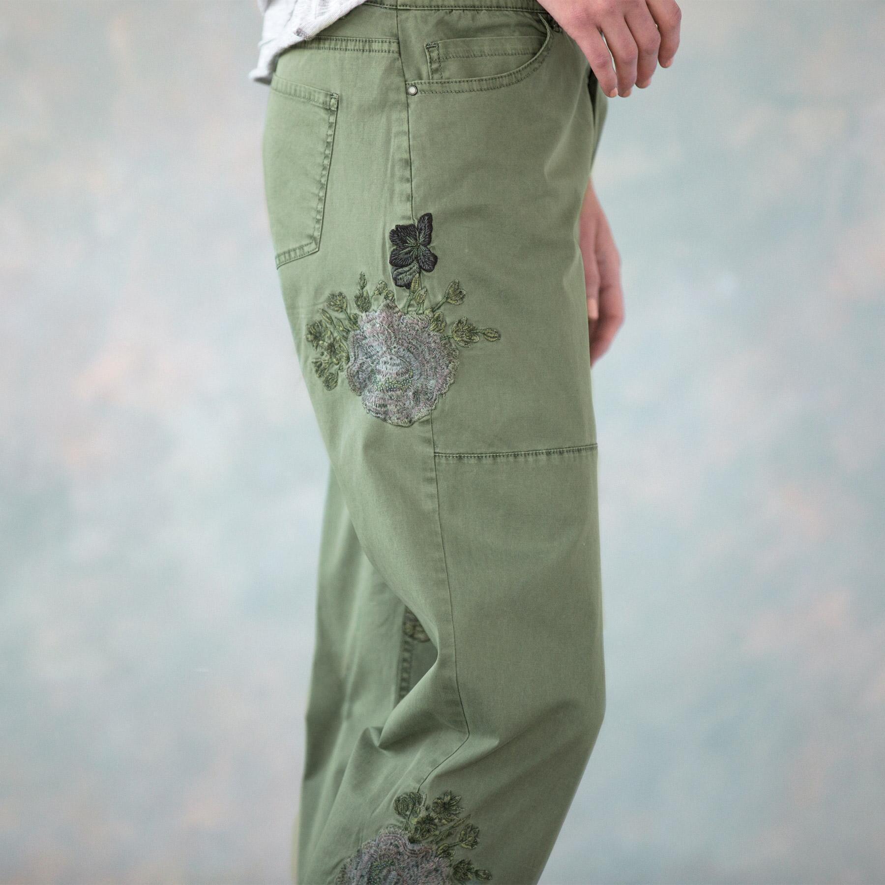NATURAL APPEAL CARGO PANTS - PETITES: View 3