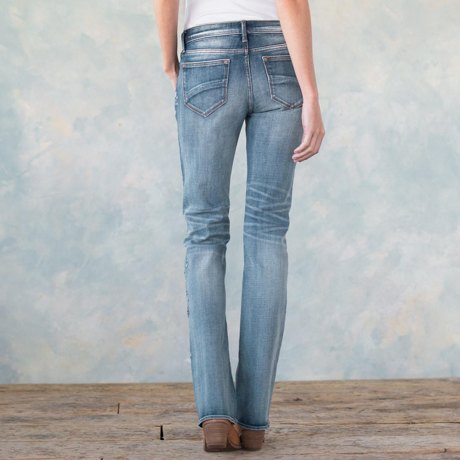 KELLY BLUEBERRY BLOSSOM JEANS: View 2