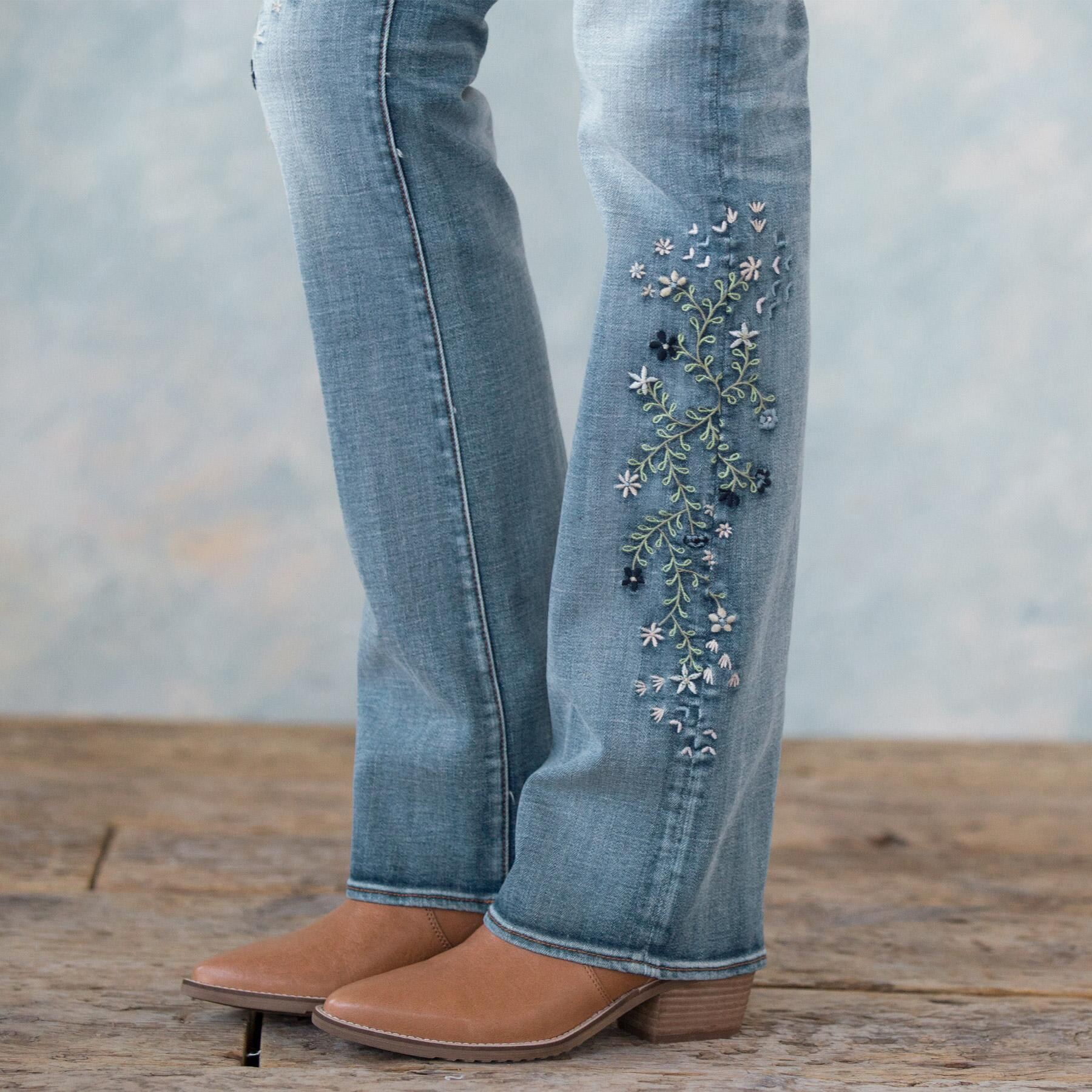 KELLY BLUEBERRY BLOSSOM JEANS: View 6