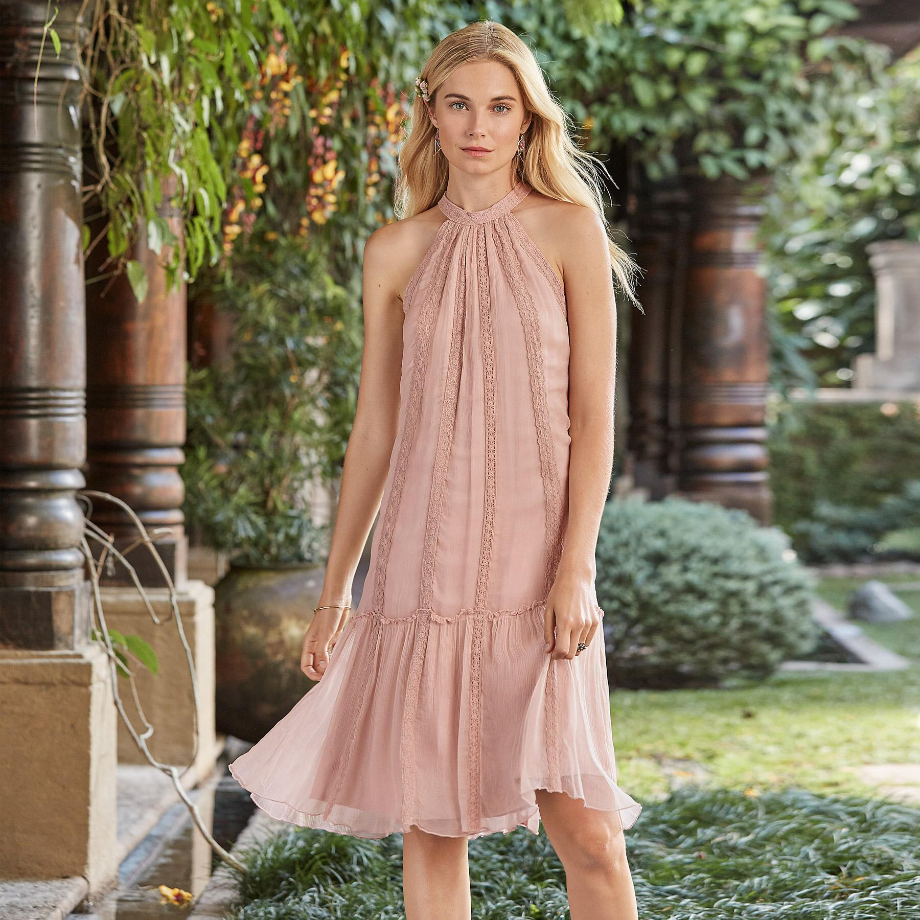 THE FAY HALTER DRESS: View 1