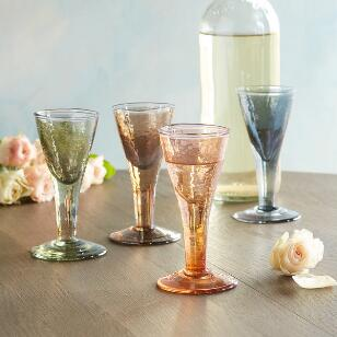 CHANTAL APERITIF FLUTES, SET OF 4