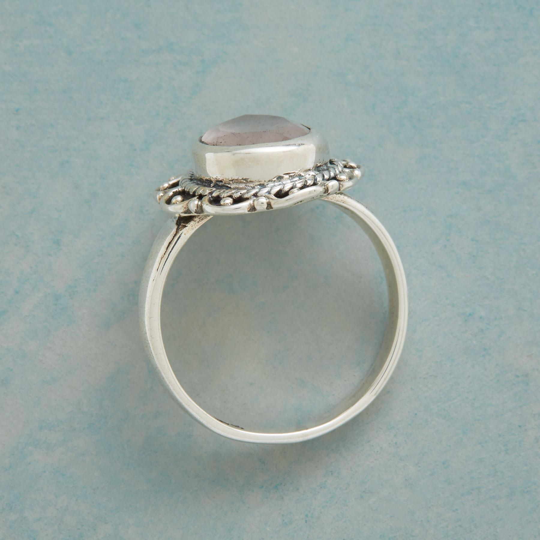 BLUSHING TEARDROP RING: View 2