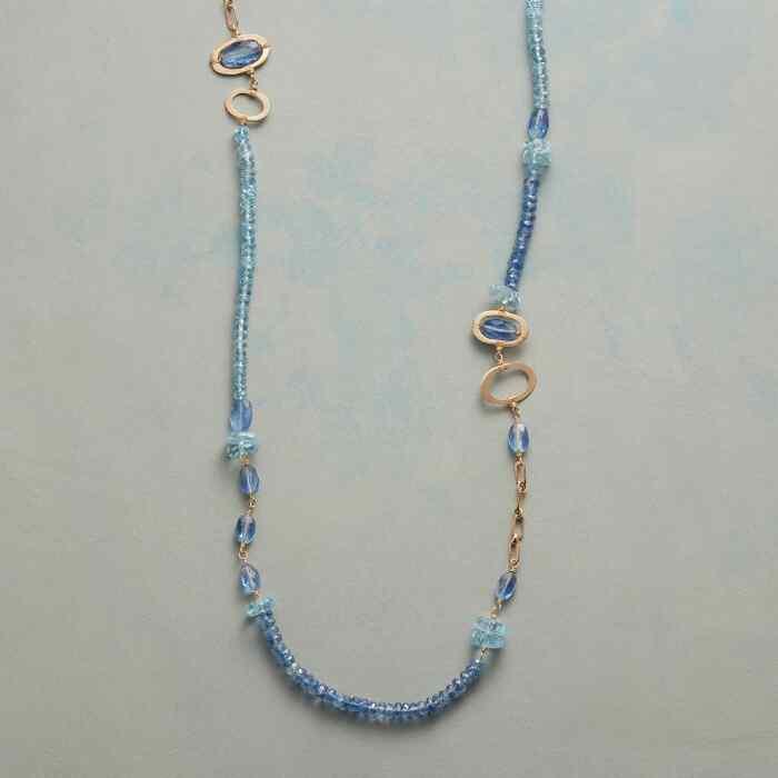 BLUE MEDLEY NECKLACE