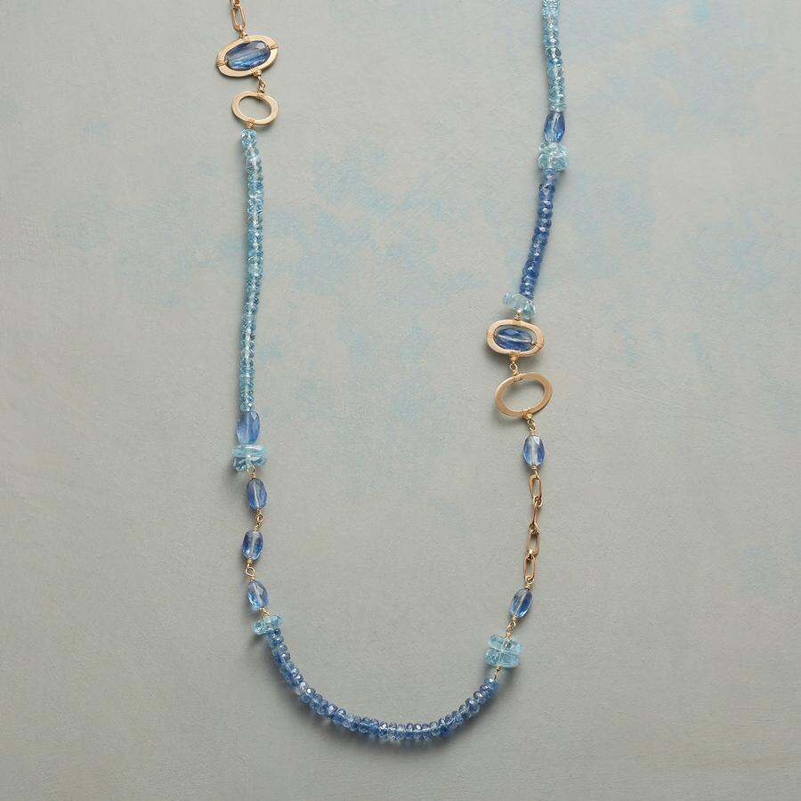 BLUE MEDLEY NECKLACE