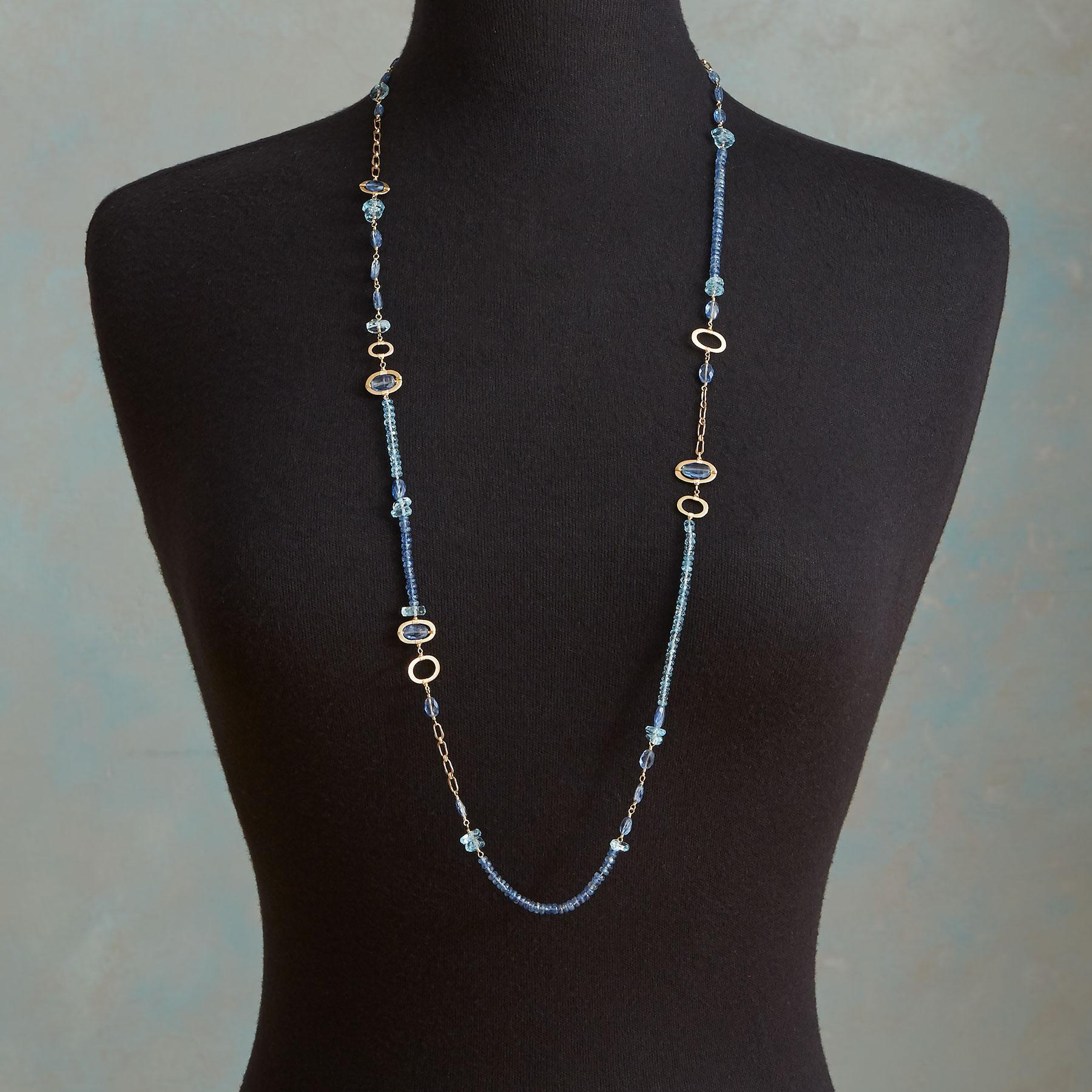 BLUE MEDLEY NECKLACE: View 4