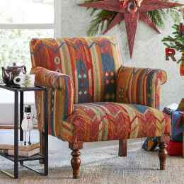 CABIN CREEK KILIM CLUB CHAIR