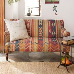 CABIN CREEK KILIM LOVESEAT